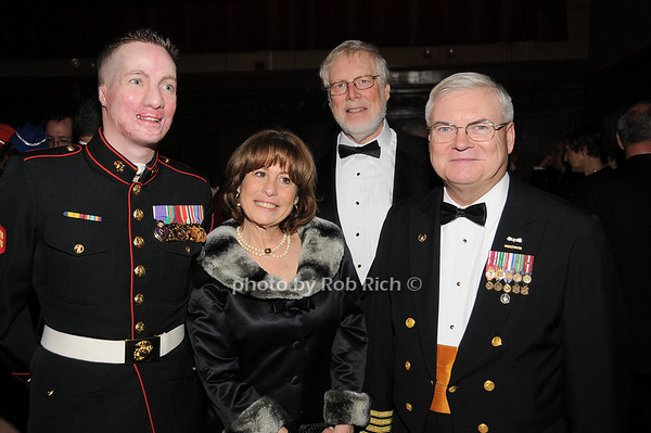 Aaron Mankin, Renee Citron, Richard Citron, Robert O'Brien<br /> photo by Rob Rich © 2009 robwayne1@aol.com 516-676-3939