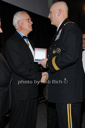 Medal of Honor recipient Col James P. Fleming, General Raymond T.Odierno<br /> photo by Rob Rich © 2009 robwayne1@aol.com 516-676-3939