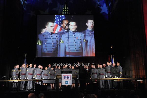 West Point Glee Club<br /> photo by Rob Rich © 2009 robwayne1@aol.com 516-676-3939