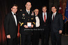 Brian Whitting, General Raymond T.Odierno, Stephen Sheffer, Brian Williams, Stephen Colbert<br /> photo by Rob Rich © 2009 robwayne1@aol.com 516-676-3939