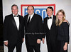 Steve Scheffer, James Gandolfini, Kenneth Gazzola, Caroline Gazzola<br /> photo by R.Cole for Rob Rich © 2009 robwayne1@aol.com 516-676-3939