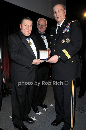 Medal of Honor recipient Col Joe M.Jackson,Col James P. Fleming, General Raymond T.Odierno<br /> photo by Rob Rich © 2009 robwayne1@aol.com 516-676-3939