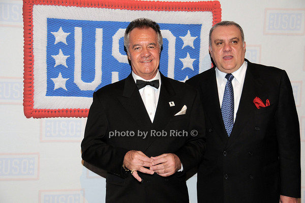 Tony Sirico, Vince Curatola<br /> photo by Rob Rich © 2009 robwayne1@aol.com 516-676-3939