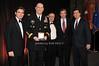 Brian Whitting, General Raymond T.Odierno, Stephen Sheffer, Brian Williams, Stephen Colbert<br /> photo by Rob Rich © 2009 robwayne1@aol.com 516-676-3939