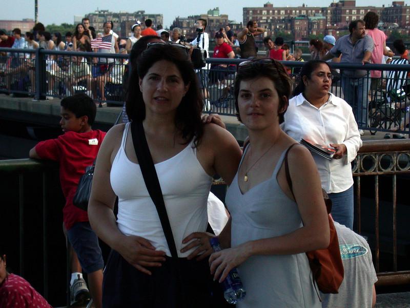 Cristina and Laurance.