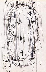 formless lingam drawing