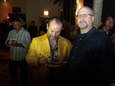 Colin Hay, and 'Kevin is the Greatest' (Colin said so) (thanks!)