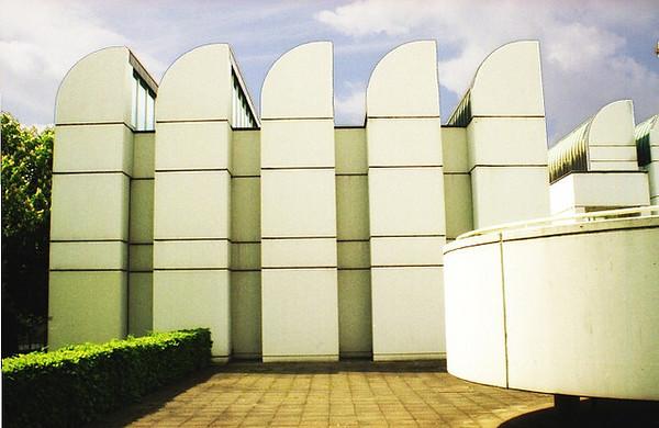 The Bauhaus Museum in Berlin, Germany.