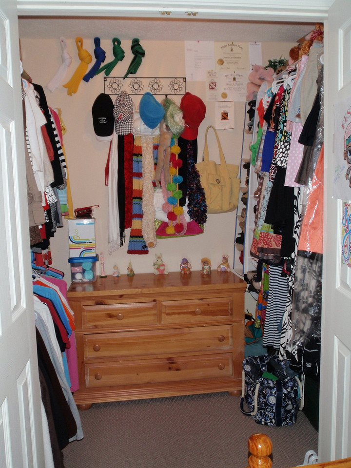 Closet for bedroom #2.