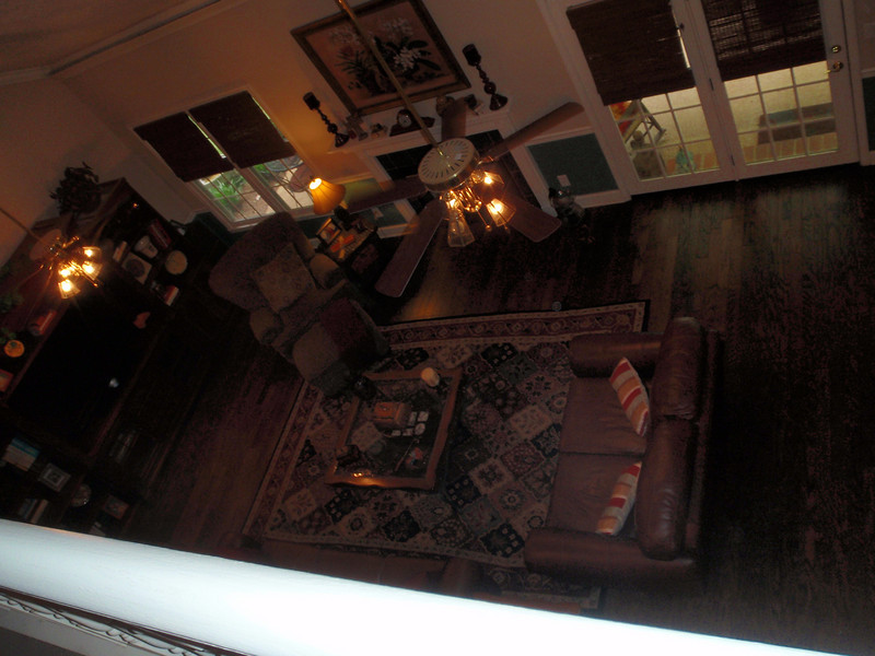 Great room from above,