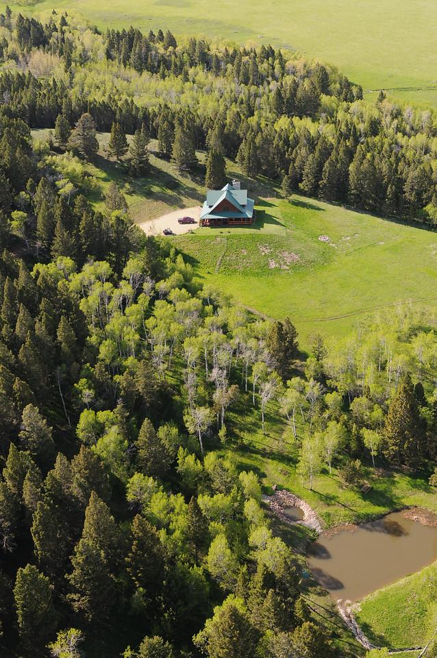 57 Hidden Trail, White Sulpher Springs Montana Aerial Photos
