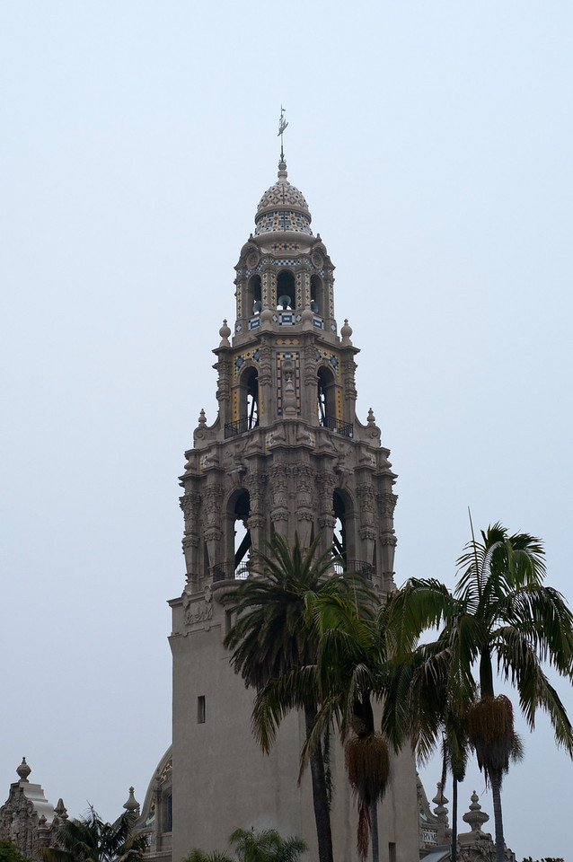 Balboa Park's California Tower