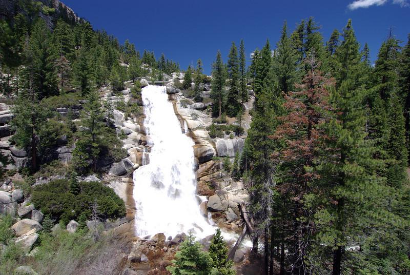 Jackass Falls near the Minaret Rd to Granite Creek
