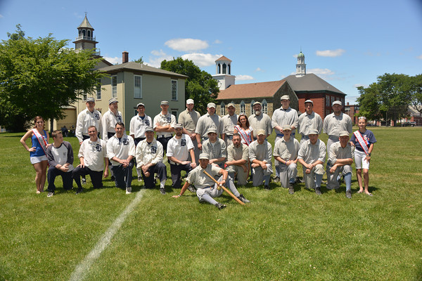 2014 Old Timers BB Game  6-21-14