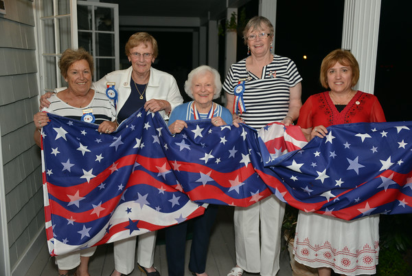 2014 Military and Town Officials at Bristol Yacht Club  6-27-14