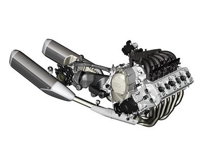 6-cyl engine