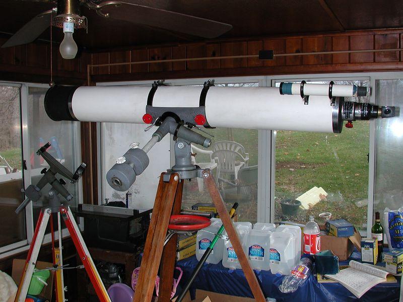 Inch jaegers refractor telescope al paslow