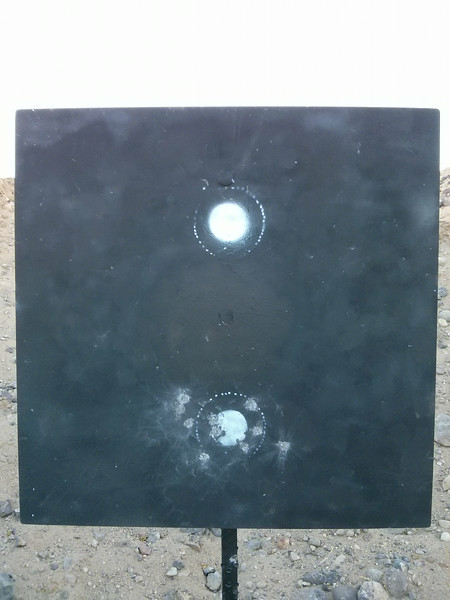 10 shot group at 600 yards.<br /> <br /> 95-2X.