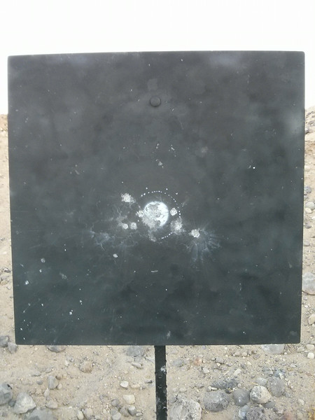 10 shots at 600 yards.<br /> <br /> 97-4X.