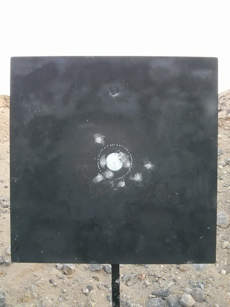10-shot group at 600 yards.<br /> <br /> 95-0X. (Probably could call it -1X.)