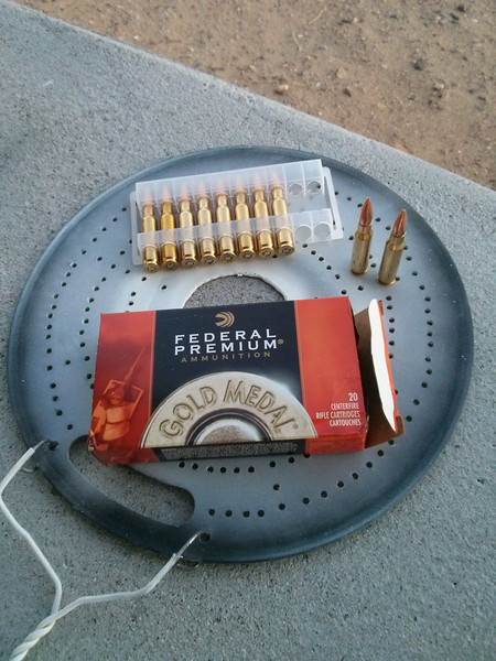 A bought a case (200 rounds) of this ammo a few weeks ago, mainly because the new Federal brass has a decent reputation and I can reload it many times.<br /> <br /> It's about $1.13/round!