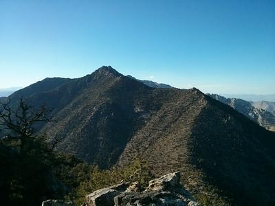 Morris Peak summit view.  Mt. Jenkins.