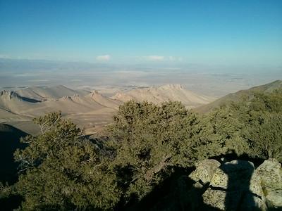 Morris Peak summit view.  Towards Five Fingers.