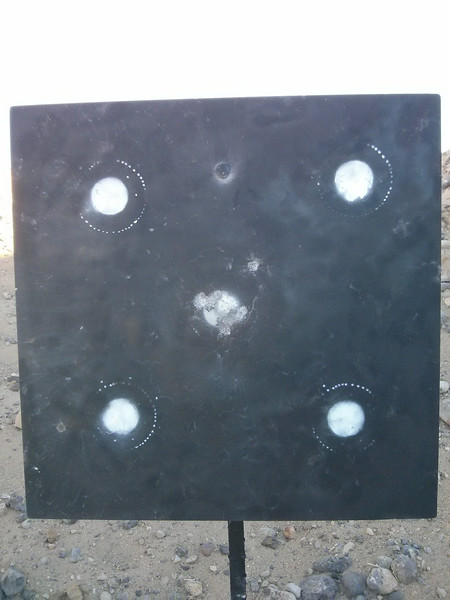 10-Shot Group at 600 yards.