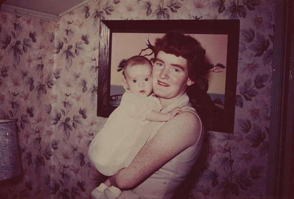 Norma Jean Stone Nebeker with Vicky