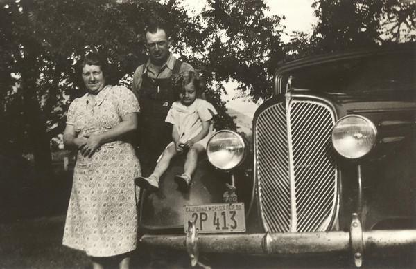 Grandma Gwen Gardner Nebeker, Grandpa Enoch Harmer Havens-Nebeker, Aunt Elva Darlene Nebeker Smith