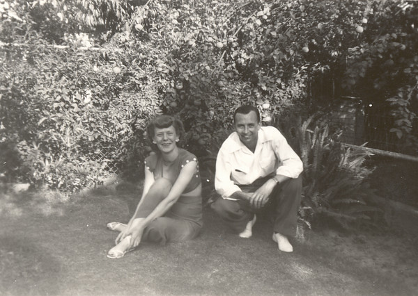 Great Uncle Rex Nebeker and wife