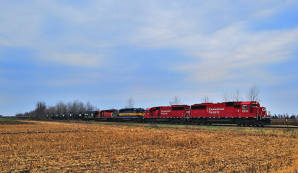 CP/D&H 644-007, Canadian Pacific Lacolle Subdivision, Lacolle, Qc