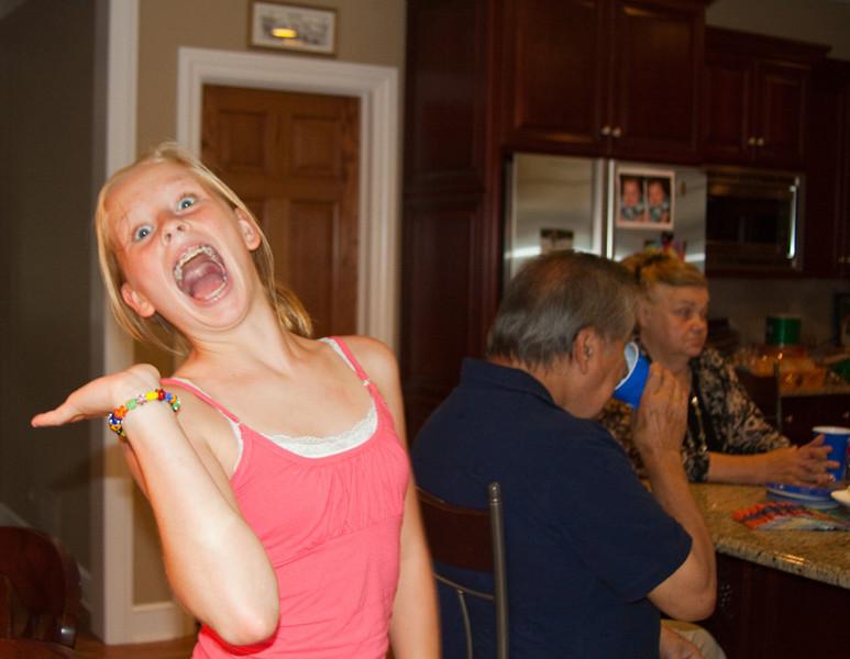 Brooke! She always makes you smile.