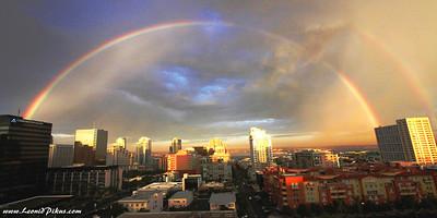 San Diego с моего балкона. September  5-45 a.m.