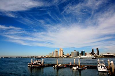 Из серии КРАСОТЫ ПОДНЕБЕСЬЯ. Мой любимый  San Diego   2011 год