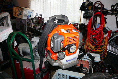 This is a Husqvarna Blower.  It is almost new and I got it for $65.  It starts right up and works perfectly.  The price of a new one is $230.