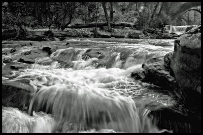 Berea Falls, raging water