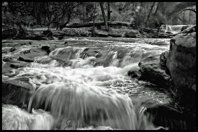 Berea Falls, raging water