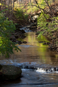 Onto Olmsted Falls................the view as we enter the Park