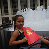 At Lincoln Center waiting to see Journey to the West