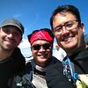 Summitting Mt. Washington with Lee and Aaron