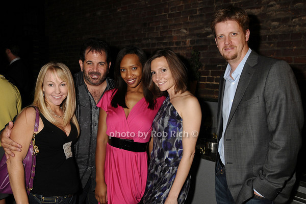 Stacy Durand, John Miller, Leah Jackson, Katie Zeazeas, Peter Hutton<br /> photo by Rob Rich © 2009 robwayne1@aol.com 516-676-3939