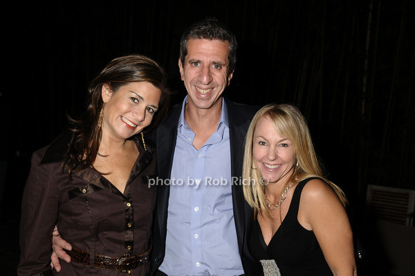 Samantha Daniels, Jason Flom, Stacy Duran<br /> photo by Rob Rich © 2009 robwayne1@aol.com 516-676-3939