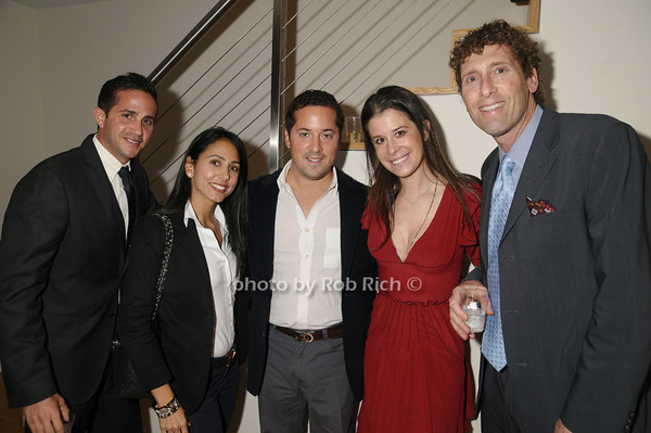 Mr.Pincus, Elizabeth Shaoul Wilens, Josh Hawks, Julie Jurist, Lewis Friedberg<br /> photo by Rob Rich © 2009 robwayne1@aol.com 516-676-3939