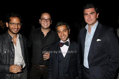 Mark Hernandez, Tony Abrams, Mohammed Abushahab, Judge Kirby photo by Rob Rich © 2009 robwayne1@aol.com 516-676-3939