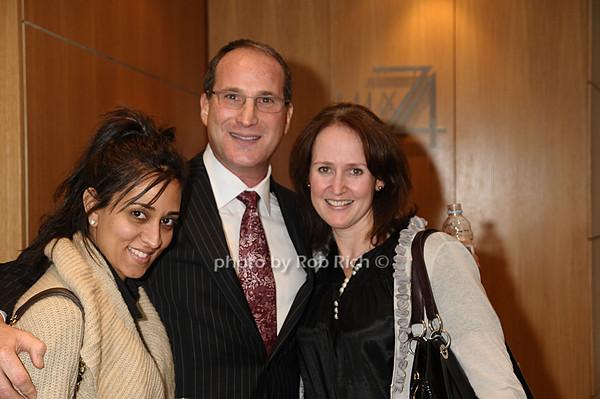 Sabiya  Amanat, Josh Guberman, Andrea London<br /> photo by Rob Rich © 2009 robwayne1@aol.com 516-676-3939