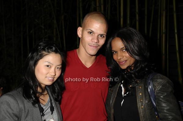 Helen Kim, Brian Delgado, Kim Moses<br /> photo by Rob Rich © 2009 robwayne1@aol.com 516-676-3939