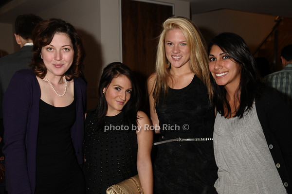 Tracy Norton, Salome Donenfeld, Erin Cudd, Christina DeMarquet<br /> photo by Rob Rich © 2009 robwayne1@aol.com 516-676-3939