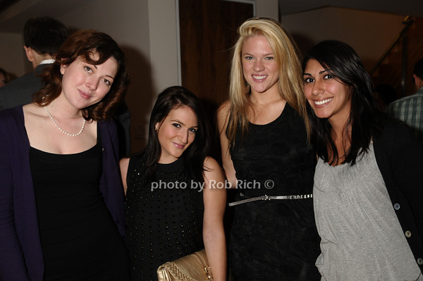 Tracy Norton, Salome Donenfeld, Erin Cudd, Christina DeMarquet<br /> photo by Rob Rich © 2009 robwayne1@aol.com 516-676-3939