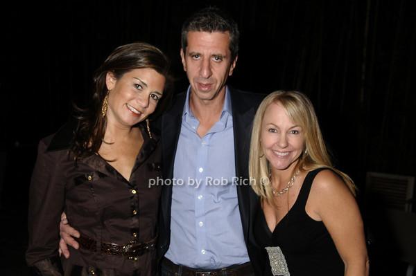 Samantha Daniels, Jason Flom, Stacy Duran<br /> photo by Rob Rich © 2009 robwayne1@aol.com 516-676-3939